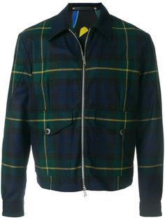 легкая куртка в клетку Paul Smith