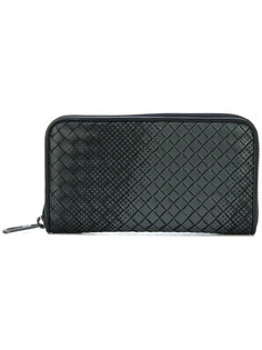 gradient spotted zip wallet Bottega Veneta