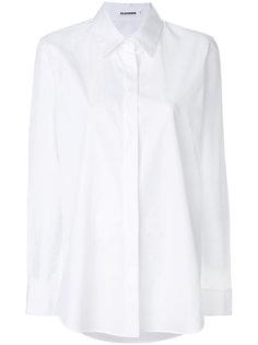 однотонная рубашка  Jil Sander