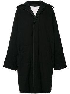 объемное однобортное пальто Haider Ackermann