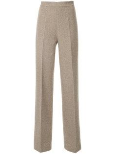 трикотажные брюки с завышенной талией Ermanno Scervino