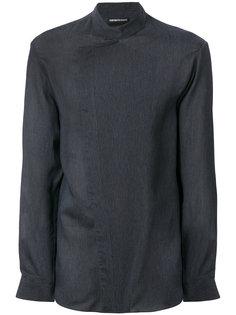 рубашка асимметричного кроя Emporio Armani
