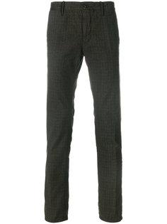 твидовые брюки Incotex