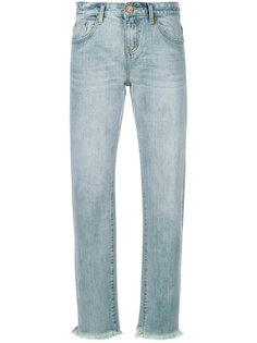 джинсы узкого кроя с необработанными краями One Teaspoon