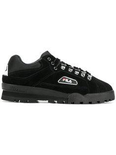 кроссовки со шнуровкой Fila