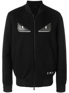 куртка с аппликацией Bag Bugs Fendi
