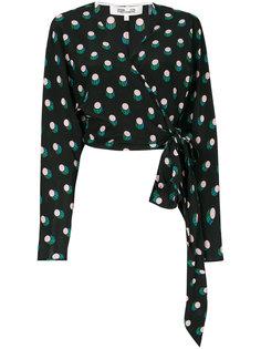 блузка с запахом Dvf Diane Von Furstenberg