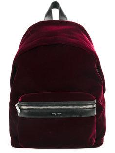 рюкзак с карманом на молнии Saint Laurent
