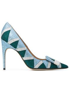 туфли-лодочки с блестками Sergio Rossi