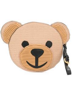 клатч в виде медведя Moschino