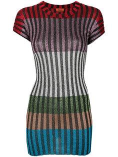 платье-кокон в полоску Missoni