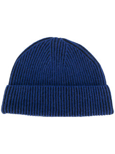 шапка в рубчик Lanvin