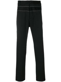 брюки с отделкой тесьмой Oamc