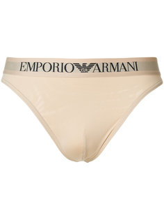 трусы с логотипом Emporio Armani
