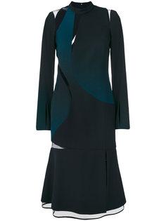 платье дизайна колор-блок Versace