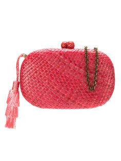 hanging tassel clutch Serpui