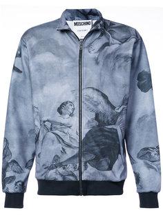 куртка с принтом фрески Moschino