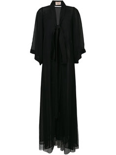 длинный прозрачный халат Ikonostas