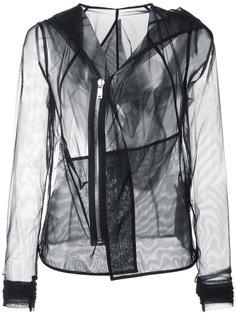 прозрачная куртка с длинными рукавами Rick Owens Lilies