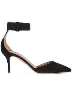 туфли с ремешком на щиколотке Aquazzura