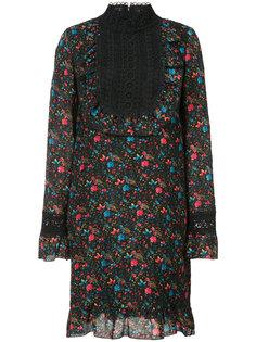 платье с кружевной нагрудной панелью Anna Sui