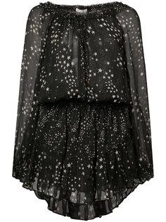 star print dress Love Shack Fancy