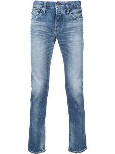 зауженные джинсы Kita Red Card