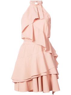 платье с вырезом-халтер Marissa Webb