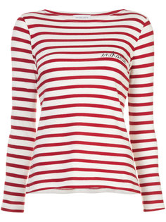 полосатая футболка enchantée  Maison Labiche