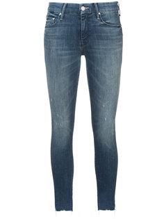джинсы скинни с бахромой Mother