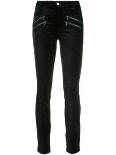 фактурные джинсы с завышенной талией Paige