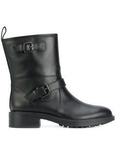 ботинки с пряжками Hogan