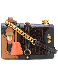маленькая сумка на плечо Moschino