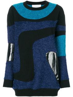 трикотажный свитер с нашивками Gianluca Capannolo