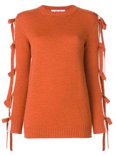 свитер Maglia с завязками на рукавах Blugirl