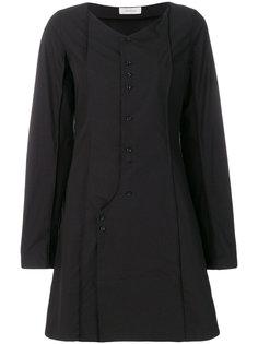 приталенное платье на пуговицах Lemaire