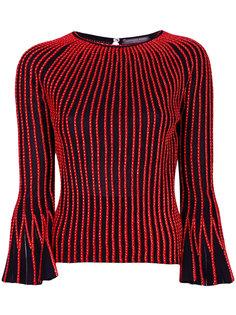 свитер с отделкой Alexander McQueen
