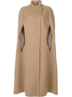 длинное пальто-накидка Agnona