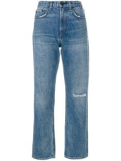 джинсы бойфренды с рваными деталями Rag & Bone