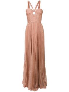 приталенное расклешенное платье-бюстье  Dsquared2