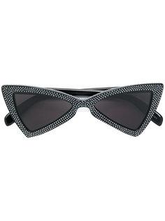 солнцезащитные очки с заклепками Saint Laurent Eyewear