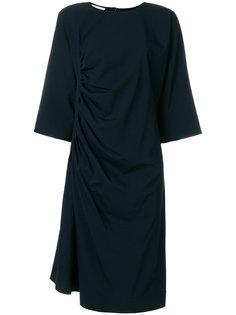 платье с присборенным дизайном Lemaire