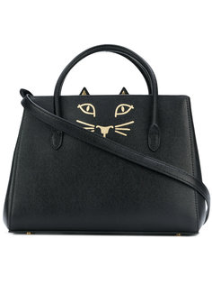 маленькая сумка-тоут Feline Charlotte Olympia