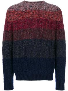 трикотажный свитер в полоску Missoni