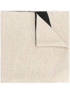 шарф с принтом-логотипом Dirk Bikkembergs