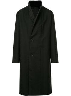 двубортное пальто Lemaire