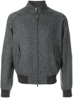 фактурная куртка-бомбер Tagliatore