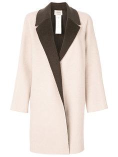 пальто без застежки Armani Collezioni