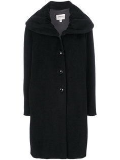 однобортное пальто Armani Collezioni