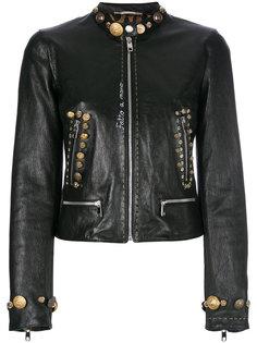 куртка с декоративными пуговицами и заклепками Dolce & Gabbana